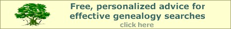 Click here for free, personalized genealogy search advice