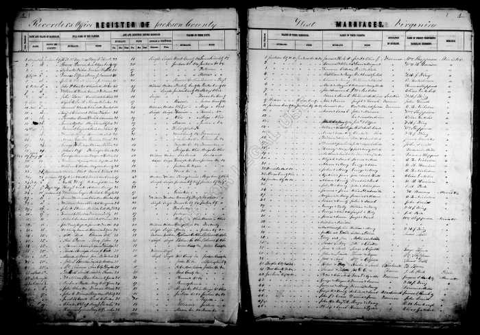 Image of the Marriage Record