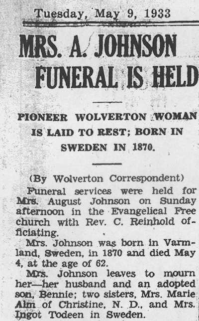 Obituaries: Search Example